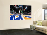 Boston Celtics v Atlanta Hawks: Kevin Garnett, Joe Johnson and Josh Smith Prints by Scott Cunningham