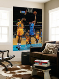 Oklahoma City Thunder v New Orleans Hornets: Russell Westbrook and David West Posters by  Chris