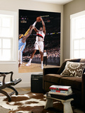 Denver Nuggets v Portland Trail Blazers: Ty Lawson and LaMarcus Aldridge Prints by Sam Forencich