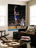 Golden State Warriors v Dallas Mavericks: David Lee and Jason Kidd Art by Danny Bollinger