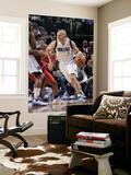 Houston Rockets v Dallas Mavericks: Jason Kidd and Kyle Lowry Print by Glenn James