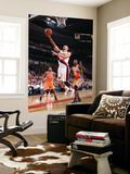 Phoenix Suns v Portland Trail Blazers: Earl Barron and Brandon Roy Prints by Sam Forencich