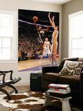 Indiana Pacers v Los Angeles Lakers: T.J. Ford and Pau Gasol Prints by Andrew Bernstein