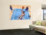 New York Knicks v Denver Nuggets: Al Harrington and Danilo Gallinari Poster by Garrett Ellwood