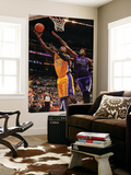 Sacramento Kings v Los Angeles Lakers: Derrick Caracter and Samuel Dalembert Posters by Noah Graham