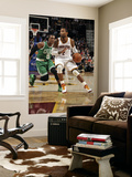 Boston Celtics v Cleveland Cavaliers: Mo Williams and Rajon Rondo Prints by David Liam Kyle