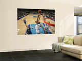 Minnesota Timberwolves v Dallas Mavericks: Brendan Haywood, Kevin Love and Michael Beasley Posters by Glenn James