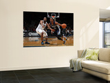 Memphis Grizzlies v Washington Wizards: Mike Conley and Gilbert Arenas Print by Ned Dishman