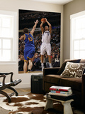 Golden State Warriors v Dallas Mavericks: Dirk Nowitzki and David Lee Prints by Danny Bollinger