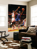 Detroit Pistons v Miami Heat: Rodney Stuckey and Chris Bosh Posters by Issac Baldizon