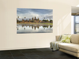 Panoramic View of Temple Ruins, Angkor Wat, Cambodia Print by  Jones-Shimlock