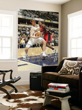 Toronto Raptors v Indiana Pacers: Tyler Hansbrough and Joey Dorsey Prints by Ron Hoskins