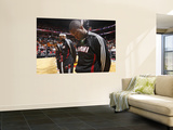 Phoenix Suns v Miami Heat: Dwyane Wade and LeBron James Prints by Victor Baldizon