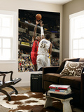 Toronto Raptors v Indiana Pacers: Sonny Weems and Roy Hibbert Prints by Ron Hoskins