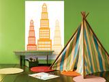 Orange Skyscraper Posters by  Avalisa