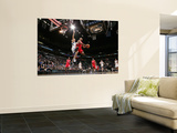 Los Angeles Clippers v Minnesota Timberwolves: Eric Gordon and Luke Ridnour Prints by David Sherman