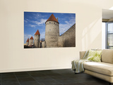 Old City Walls, Tallinn, Estonia Prints by Walter Bibikow