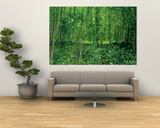 Bois et sous-bois|Woods and Undergrowth, 1887 Poster par Vincent van Gogh