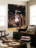 Miami Heat v Orlando Magic: Dwight Howard and Zydrunas Ilgauskas Print by Mike Ehrmann