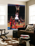 Toronto Raptors v Detroit Pistons: Rodney Stuckey and Joey Dorsey Prints by Allen Einstein