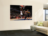 Utah Jazz v Los Angeles Clippers: Al-Farouq Aminu and Al Jefferson Posters by Noah Graham