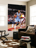 Denver Nuggets v Portland Trail Blazers: Wesley Matthews and Carmelo Anthony Art by Sam Forencich