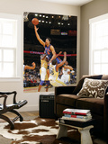 New York Knicks v Golden State Warriors: Landry Fields and Reggie Williams Prints by Rocky Widner