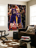 Los Angeles Lakers v Los Angeles Clippers: Derek Fisher and Pau Gasol Prints by  Stephen