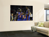 New York Knicks v Charlotte Bobcats: Amare Stoudemire and Raymond Felton Posters by Streeter Lecka