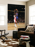 New York Knicks v Toronto Raptors: Amar'e Stoudemire and Amir Johnson Prints by Ron Turenne