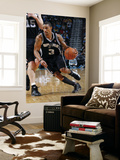 San Antonio Spurs v New Orleans Hornets: George Hill Prints by Layne Murdoch