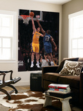 Washington Wizards v Los Angeles Lakers: Pau Gasol and Kevin Seraphin Prints by  Jeff