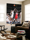 New Jersey Nets v Utah Jazz: Anthony Morrow and Ronnie Price Print by Melissa Majchrzak
