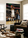 Denver Nuggets v Charlotte Bobcats: Shaun Livingston and Chauncey Billups Prints by Kent Smith