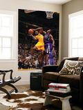 Sacramento Kings v Los Angeles Lakers: Devin Ebanks and Jason Thompson Prints by Noah Graham
