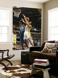 Orlando Magic v Indiana Pacers: Dwight Howard and Brandon Rush Prints by Ron Hoskins