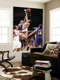 Los Angeles Lakers v Houston Rockets: Matt Barnes and Kevin Martin Posters by Bill Baptist