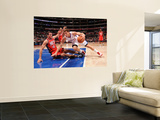 New Jersey Nets v Los Angeles Clippers: Blake Griffin and Kris Humphries Posters by Noah Graham