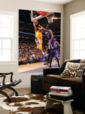Sacramento Kings v Los Angeles Lakers: Kobe Bryant and Samuel Dalembert Prints by Andrew Bernstein
