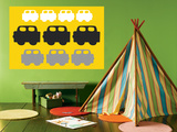 Yellow Cars Posters by  Avalisa