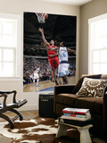 Houston Rockets v Dallas Mavericks: Tyson Chandler and Luis Scola Prints by Glenn James