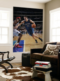 Minnesota Timberwolves v Dallas Mavericks: Darko Milicic and Brendan Haywood Prints by Glenn James
