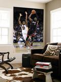 Miami Heat v Golden State Warriors: Dwayne Wade and Reggie Williams Prints by  Ezra
