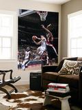 Portland Trail Blazers v New Jersey Nets: Jordan Farmar and LaMarcus Aldridge Posters by David Dow