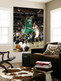 Boston Celtics v Charlotte Bobcats: Glen Davis and Gerald Wallace Posters by  Streeter