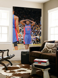 Detroit Pistons v Golden State Warriors: Will Bynum Art by Rocky Widner