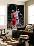 Houston Rockets v Dallas Mavericks: Jason Terry and Chase Budinger Print by Glenn James