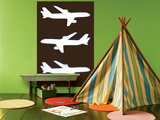 Brown Planes Prints by  Avalisa