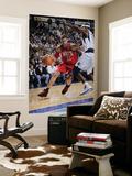 New Jersey Nets v Dallas Mavericks: Brook Lopez and Brendan Haywood Art by Glenn James