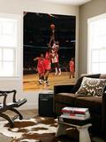 Houston Rockets v Toronto Raptors: Amir Johnson and Jordan Hill Prints by Ron Turenne